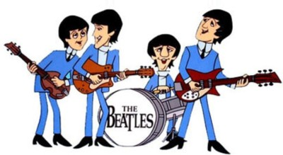 The Beatles animated 400px